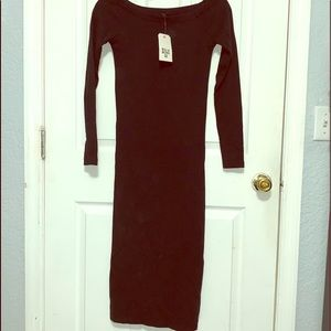 NWT Billabong off shoulder midi dress